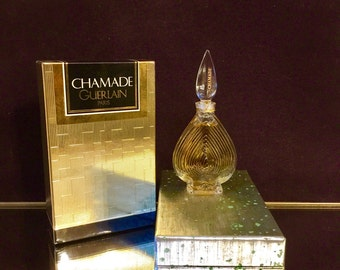 CHAMADE 1/4 oz Sealed Guerlain Perfume Vintage discontinued