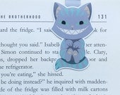 Cheshire Cat - Magnetic bookmark - Alice in Wonderland || book lover gifts | lewis carroll | bookmark | bookish | bookmarks