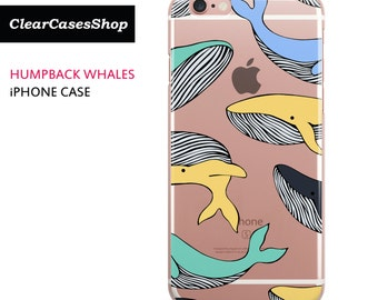 Humpback Whales iPhone 7 case, Also Available for iPhone 7 Plus, iPhone 6, iPhone 6 Plus, iPhone 6s Plus, iPhone 5/S/SE, S7 & S7 Edge
