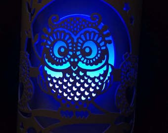 owl night light lamp