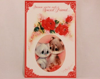 Special Friend Greeting Card and Envelope