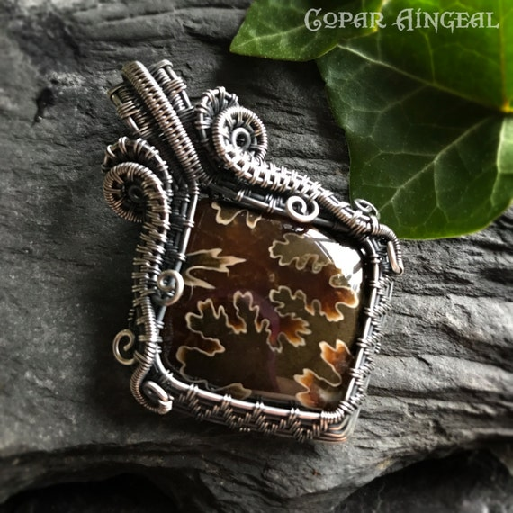 Tutorial Seahorse Swirls Pendant Wire Wrapping