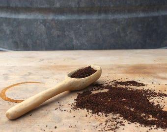 Hand Carved Spoon, Coffee Scoop, Wooden Spoon, Sugar Spoon