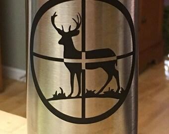 Deer in Crosshairs Decal