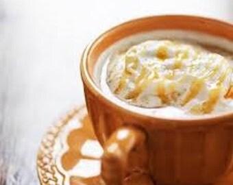 1 oz. COFFEE CARAMEL CREME fragrance oil candle soap diffuser