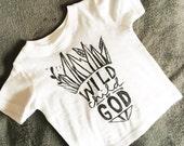 Wild Child of God Kids T-Shirt