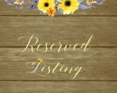 Reserved listing for Alisha