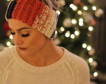 Crochet Ear Warmers/ Headband