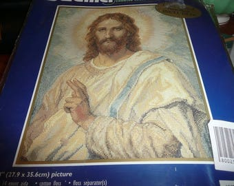 Bucilla Counted Cross Stitch Christ's Image Kit