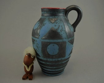 Vintage vase / Carstens Tonnieshof / 1518 23 / decor Ankara | West Germany | WGP | 60s
