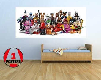 Lego Batman Movie - KIDS - Massive Wall Poster/Picture/Art 1.45m x 0.8m/LBM06