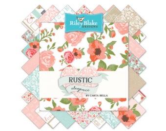 Fat Quarter Bundle Rustic Elegance by Carta Bella for Riley Blake Designs- 18 Fabrics