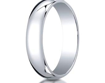 5mm Platinum Wedding band, Platinum Wedding Ring, Platinum Ring, Thin platinum band, Traditional wedding band, Platinum wedding band 5mm