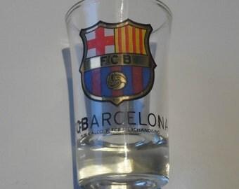 FCB Barcelona Publicalco Merchandising Souvenir Shot Glass