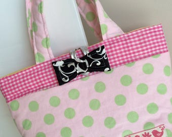 Girls TOTE Bag ~Polka Dot~