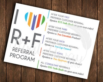 R+F Referral Card