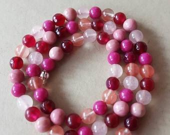 Precious stone chain spirit of a fairy - 40 cm