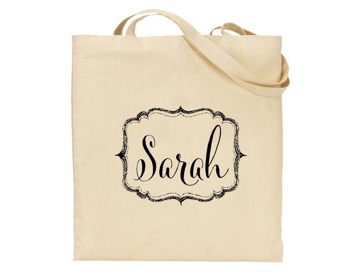 Personalised Tote Bag | Wedding bag | Hen do | Bride | Bridesmaid bag | Mother | Flower girl | Gift bag | Available in any colour.