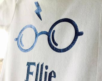 custom Harry Potter inspired bodysuit