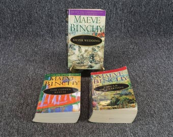 Lot Of 3 Books By Maeve Binchy