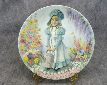 "Reco "" Mary,Mary"" 1979 Collectors Plate"