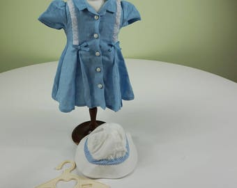 Molly Route 66 Outfit, Dress, Hat and Hanger, American Girl