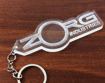 Key ring of ZORG Industries in the film the fifth element The Fith element