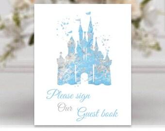 Disney guestbook | Etsy