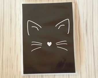 Cat face planner sticker book Planner sticker organizer