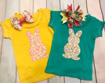Bunny Ruffle T-shirt