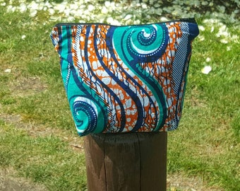 African Print Make-up Bag