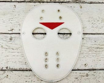 Hockey Goalie Children's Felt Mask  - Costume - Theater - Dress Up - Halloween - Face Mask - Pretend Play - Party Favor