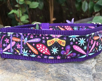 Dancing Dragonfly martingale collar