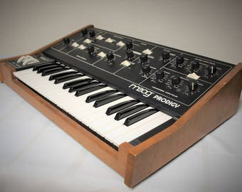 Vintage Moog Prodigy Analog Synthesizer 1970's - early 1980's Model 336A