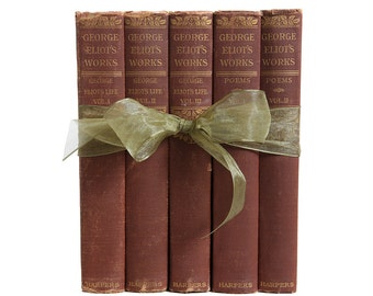 George Eliot Gift Set: Her Life & Poetry, S/5