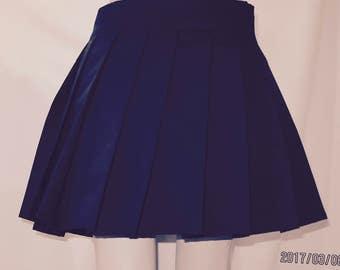 Wool pleated skirt | Etsy