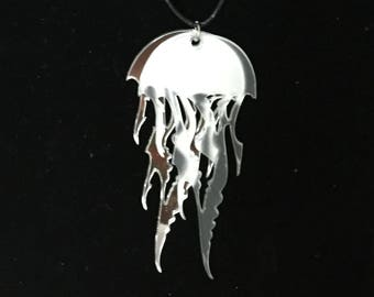 Double Jellyfish Necklace
