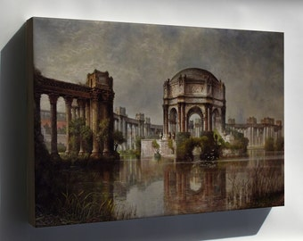 Canvas 16x24; Palace Of Fine Arts And The Lagoon #031215