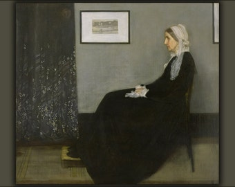 16x24 Poster; Whistlers Mother By James Mcneill Whistler