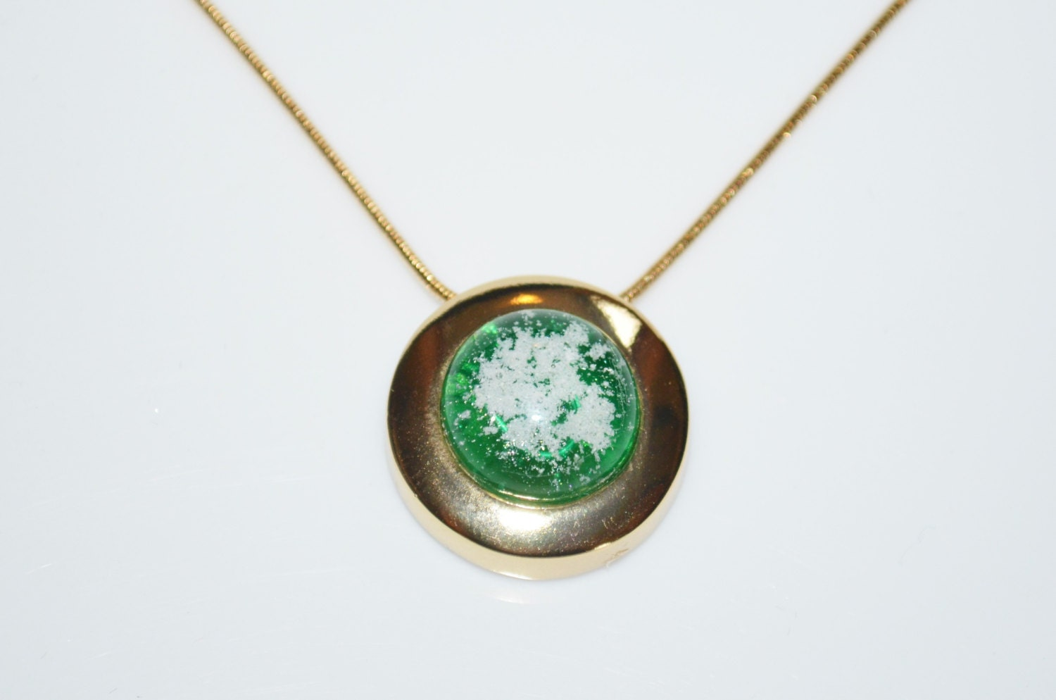 Dichroic Glass Cremation Jewelry