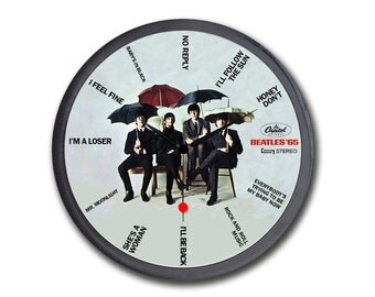 The Beatles Wall Clocks Beatles Album covers and songs name  Gift for Musicians, Room Decor, Musician, Beatles Gift, Beatles Art, Revolver