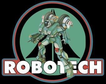 Robotech Vintage Image T-shirt