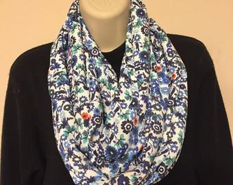 Soft beautiful infinity scarf