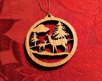 Maine outdoors Scene Ornament