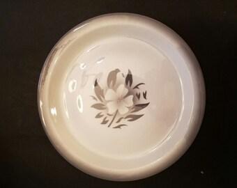 """Vintage jackson china air brushed  floral restaurant 10.5"""" plate VD7"""