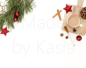 Christmas | Set of 2 photos | Stock Photography | Styled desktop | Styled Stock Photography |  Instant Download