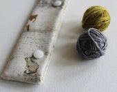 DPN cosy ~ circular needle cosy ~ needle keeper ~ sock safe ~ Woodland Creatures