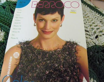 Knitting Pattern Book - Berroco #216 Color & Texture - 15 Designs - Sweaters, Cardigans, Tops, Sleeveless Tops, Jackets