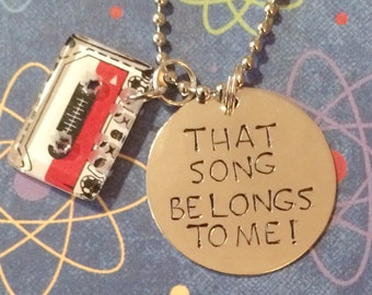 Guardians of the Galaxy That song belongs to me necklace