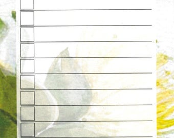 To Do List, Yellow Lehua
